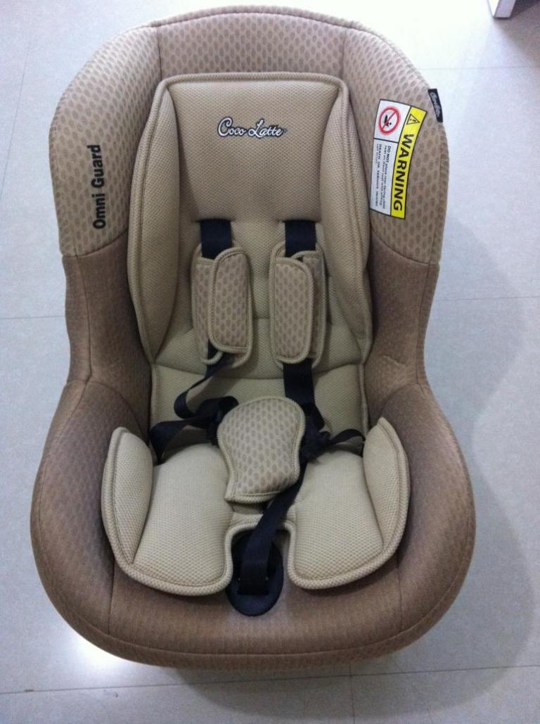 21++ Car seat cocolatte omniguard information